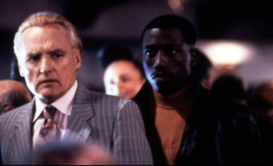 Wesley Snipes and Dennis Hopper in Boiling Point
