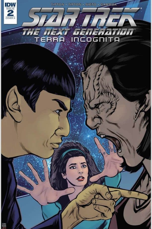 Star Trek TNG, Star Trek, The Next Generation, Deanna Troi, IDW, IDW Comics, Science Fiction, Vulcans, Cardassians