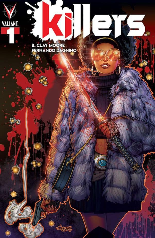 Killers #1 cover from Valiant Comics