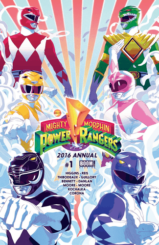 Mighty Morphin Power Rangers - 2016 Annual #1