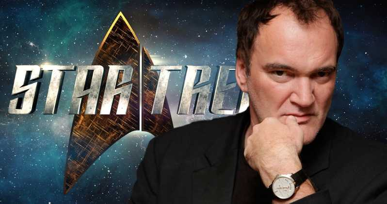 Quentin Tarantino Rumored for Next Star Trek
