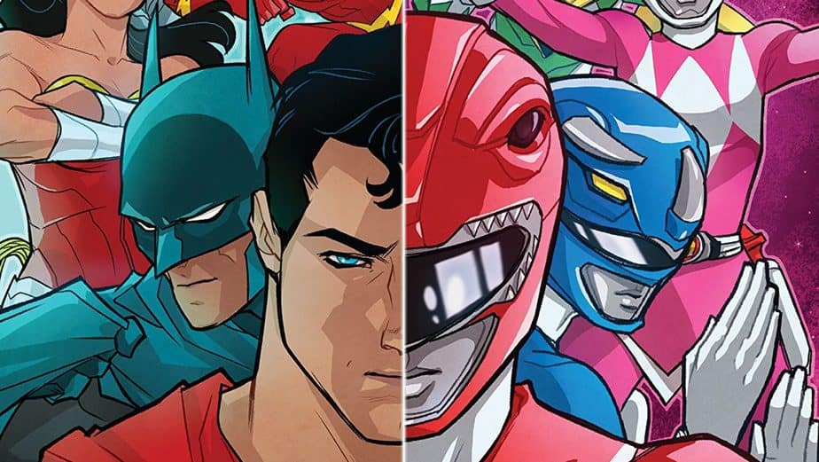 Justice League/Power Rangers – an action-packed crossover 3