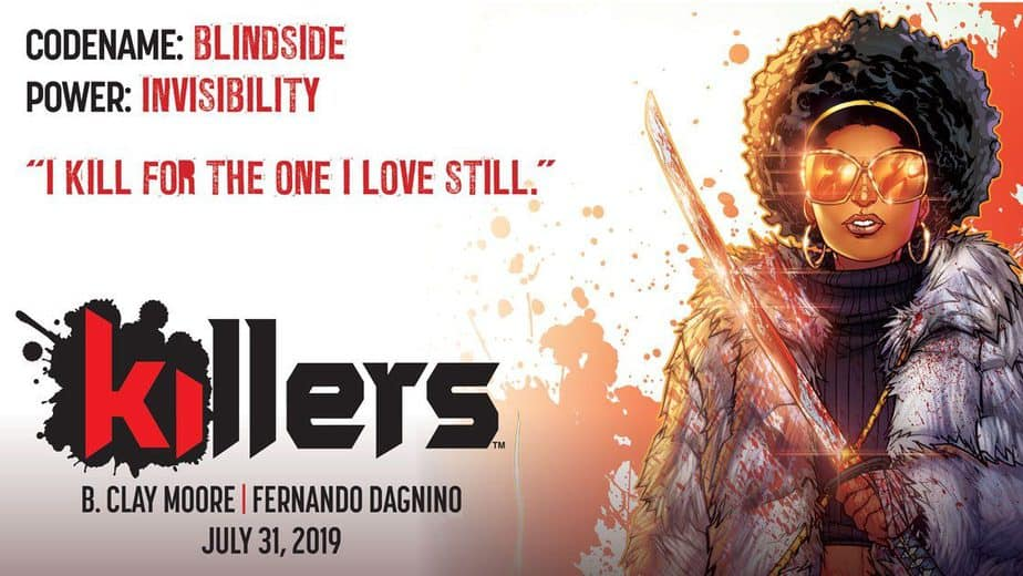 KILLERS #1 – NINJAS. SPIES. MI6. And the feeling of not having read a story about any of that. 5