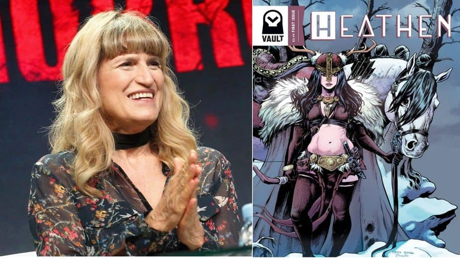 NETFLIX PRESENTS -Catherine Hardwicke to helm film adaptation of Heathen. 6