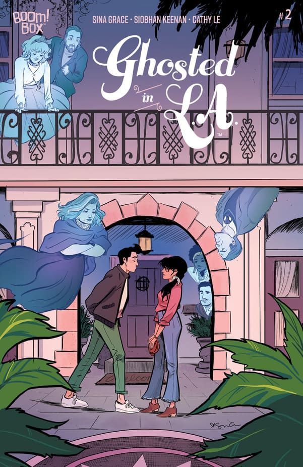 Ghosted in L.A. #2 continues its Cute College of the Afterlife 2