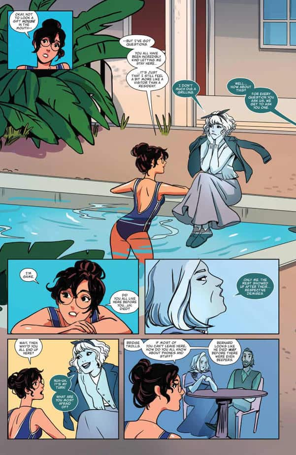 Ghosted in L.A. #2 continues its Cute College of the Afterlife 7
