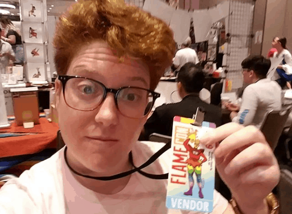 I Tabled at FLAMECON, The World's Largest LGBTQ+ Con. - Here's What I Learned! 1