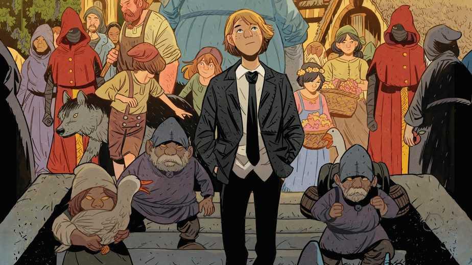All New Fantasy Series FOLKLORDS Coming in November 9