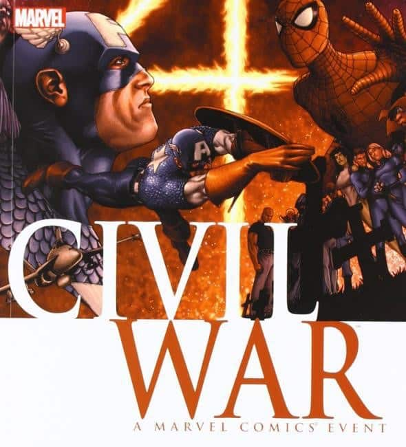 CIVIL WAR - Looking back at Mark Millar's Infamous Event 3