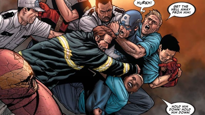 CIVIL WAR - Looking back at Mark Millar's Infamous Event 5