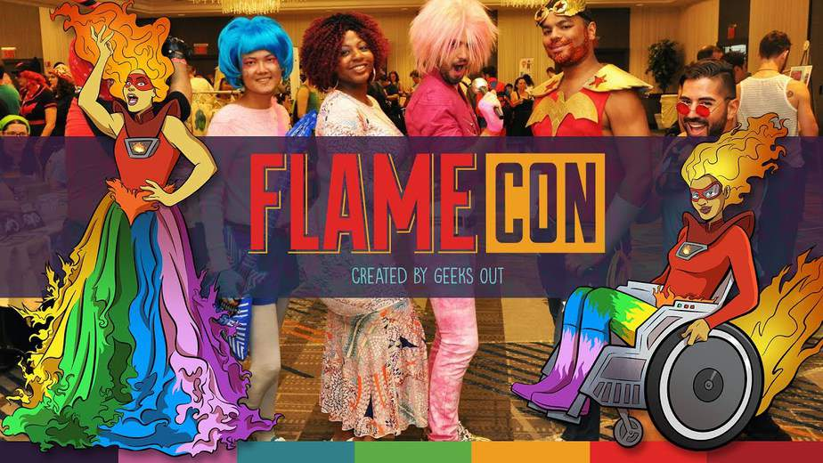 I Tabled at FLAMECON, The World's Largest LGBTQ+ Con. - Here's What I Learned! 3
