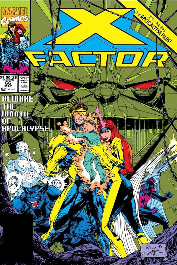 X-FACTOR faces their biggest threat in issue 66 - THEIR $%#!ING SHIP! 2
