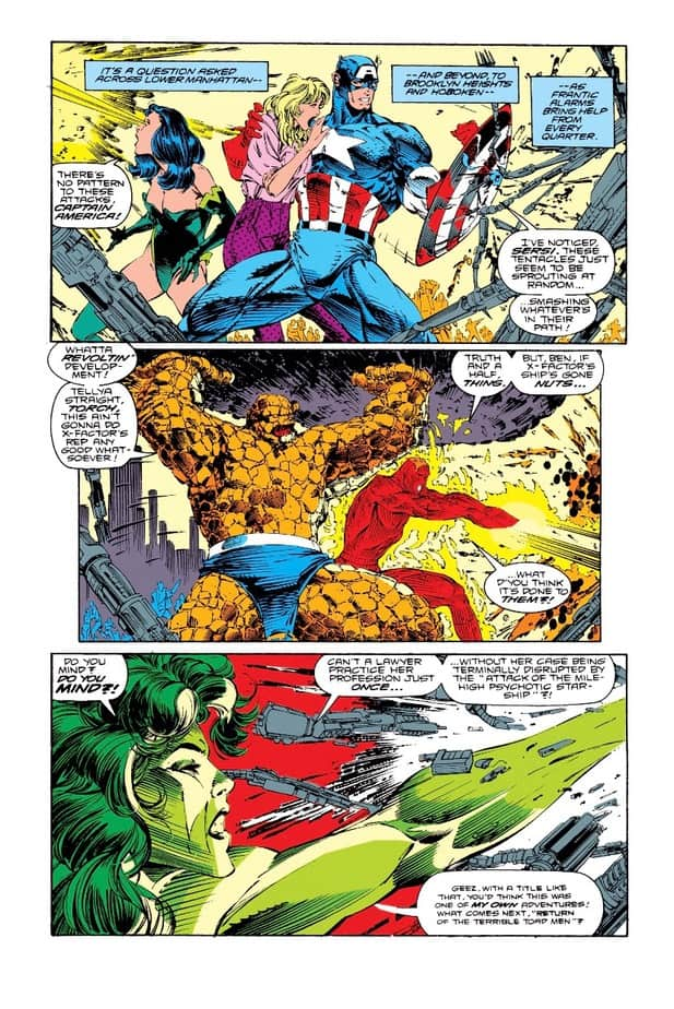 X-FACTOR faces their biggest threat in issue 66 - THEIR $%#!ING SHIP! 3