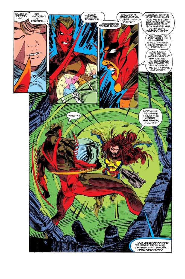 X-FACTOR faces their biggest threat in issue 66 - THEIR $%#!ING SHIP! 4