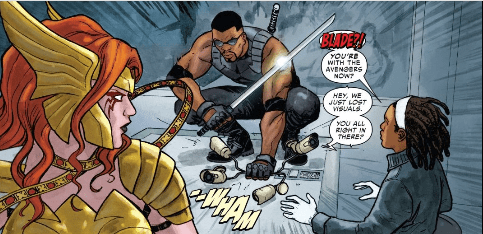 Strikeforce #1 - Is Blade ready for his own team? 3