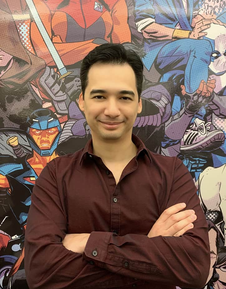Greg Tumbarello is Valiant's Newest Editor