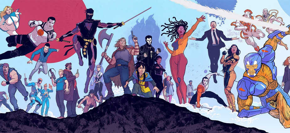 Greg Tumbarello is Valiant Entertainment's Newest Editor 3
