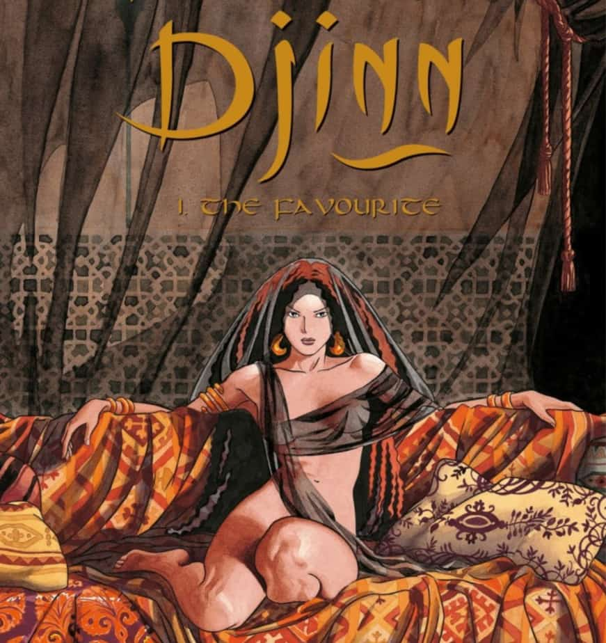 Djinn Vol 1-2: Desire in the Eyes of History 1