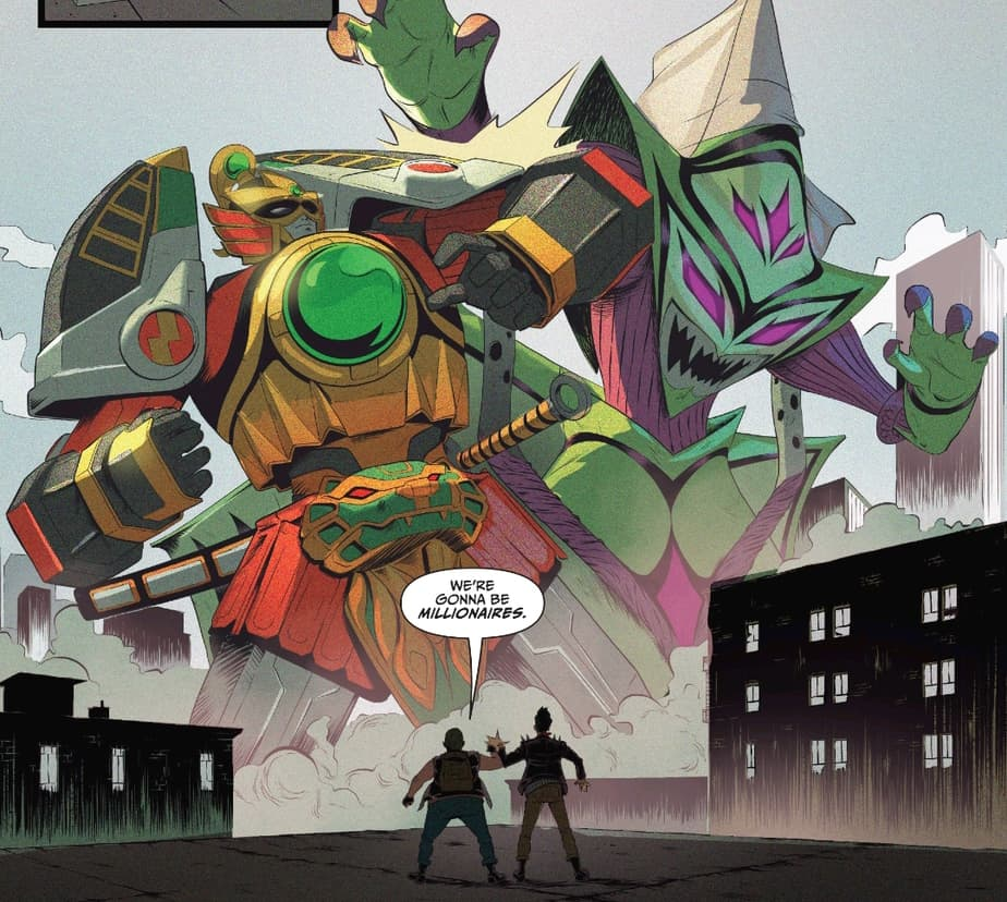 Go Go Power Rangers #24 - With Heart and Guts 2