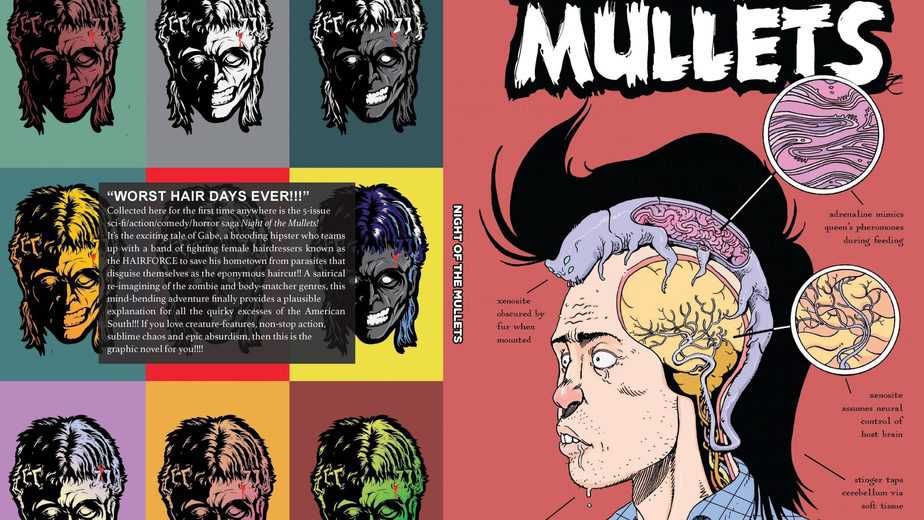 NIGHT OF THE [LIVING] MULLETS #1 - Everything You Need To Know Is In The Title. 3