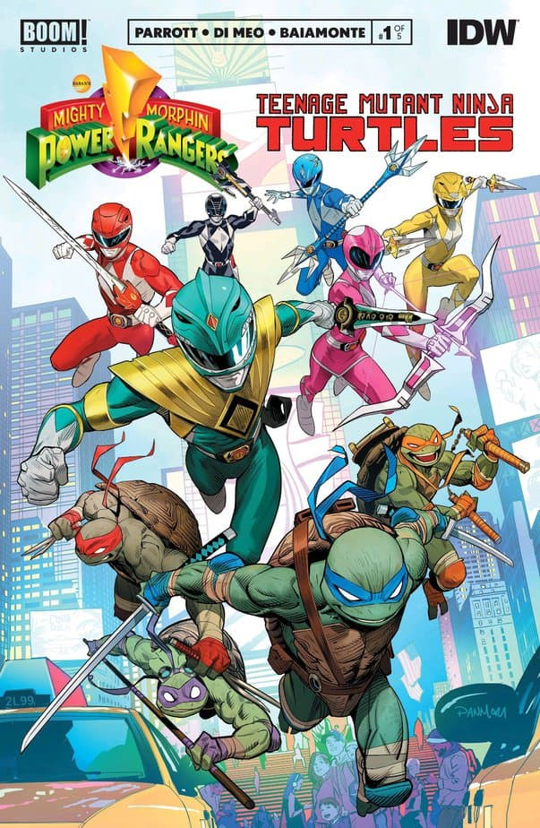 Mighty Morphin Power Rangers/Teenage Mutant Ninja Turtles #1 - The Ultimate Crossover