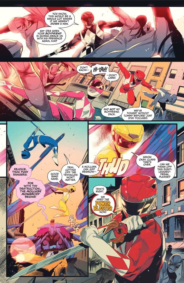 Mighty Morphin Power Rangers/Teenage Mutant Ninja Turtles #1 - The Ultimate Crossover 4