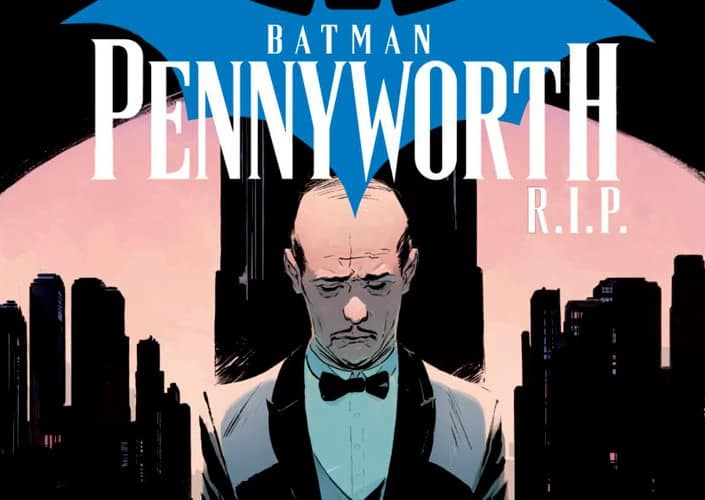 BATMAN: PENNYWORTH R.I.P. #1 - DC Comics Exclusive Preview 1