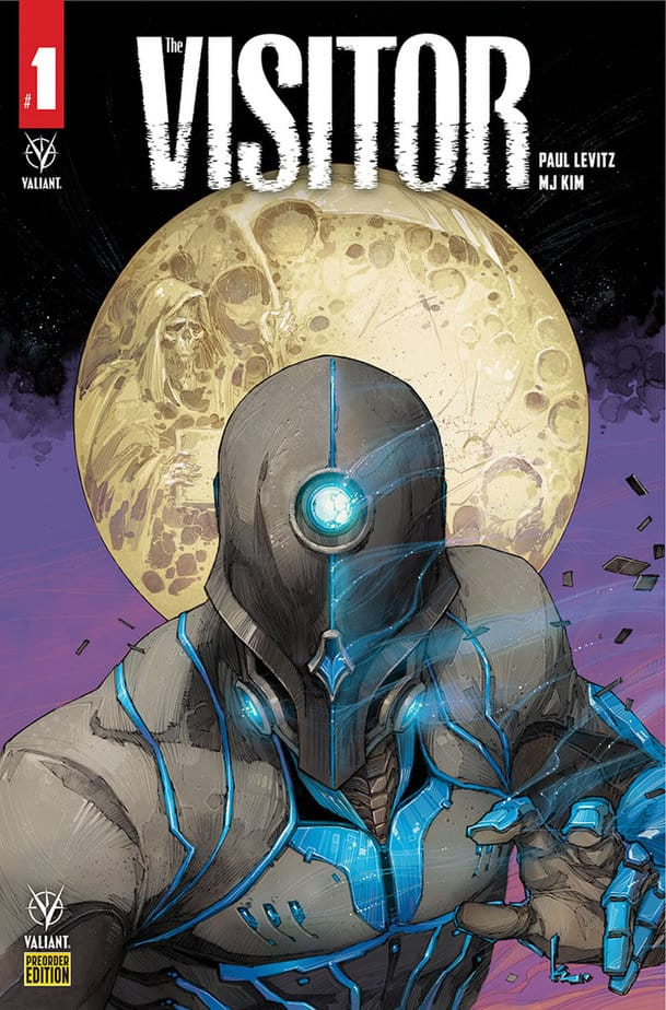 THE VISITOR #1 - More Mystery than Man 1