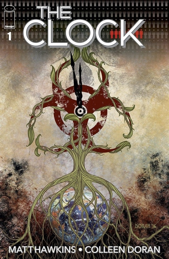 The Clock #1 Front Cover - Out through Top Cow and Image Comics