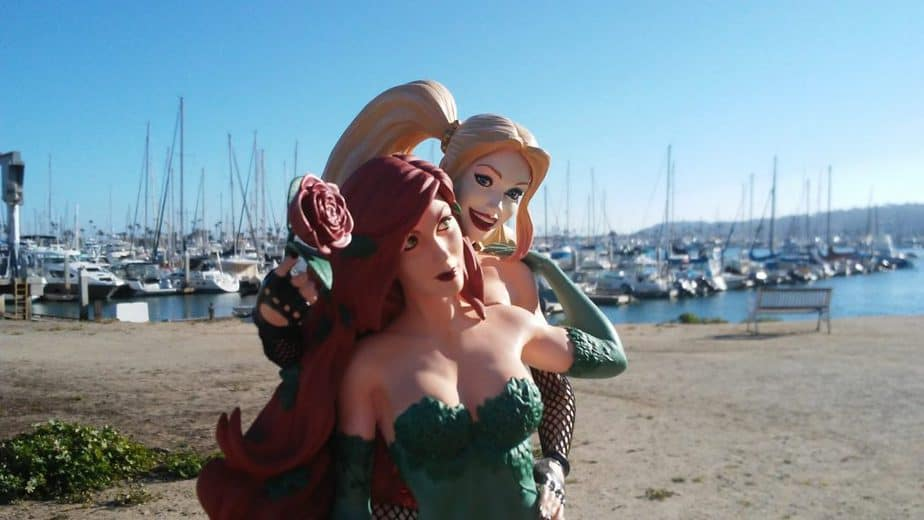 DC Designer Series: Harley Quinn and Poison Ivy by Emanuela Lupacchino. Photo by Sarabeth Pollock