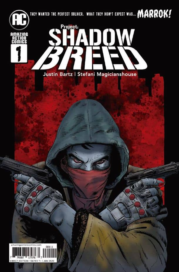 Shadow Breed #1, Front Cover