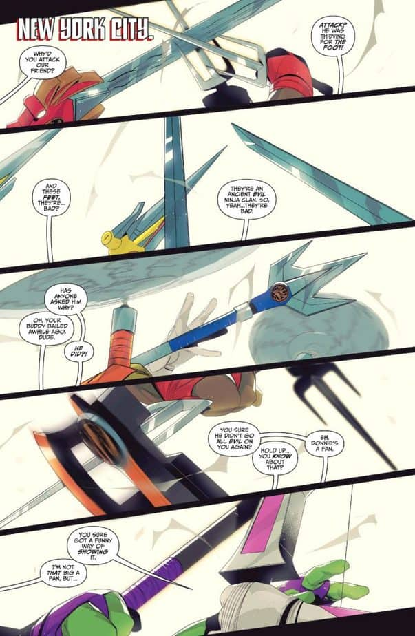 TMNT/Mighty Morphin Power Rangers #2 Page 1