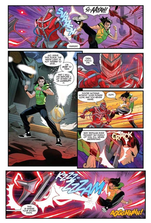 GO GO POWER RANGERS #27 - The Power of the White Tiger 3