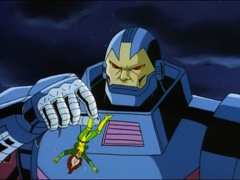 Apocalypse and Rogue in X-Men TAS episode Obsession, image courtesy of Disney Plus