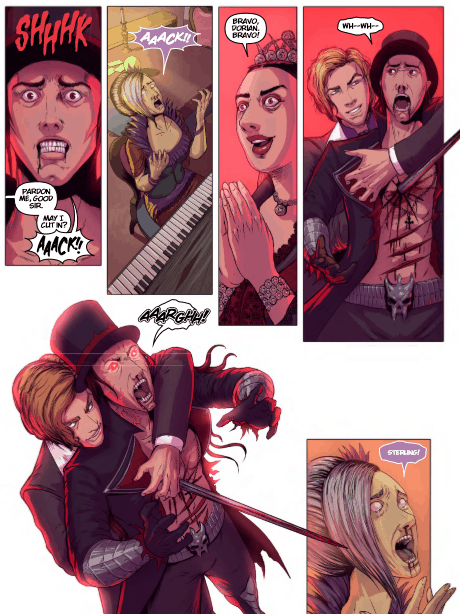 Wolvenheart #2, image courtesy of Mad Cave Studios