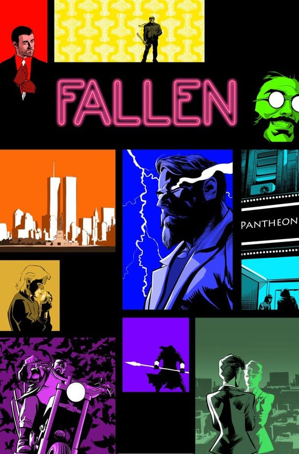 FALLEN #1 - Mobster Gods Manipulate Hell on Earth 1