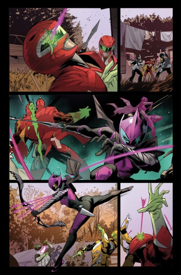 Your First Look at the POWER RANGERS: RANGER SLAYER #1 One-Shot 4