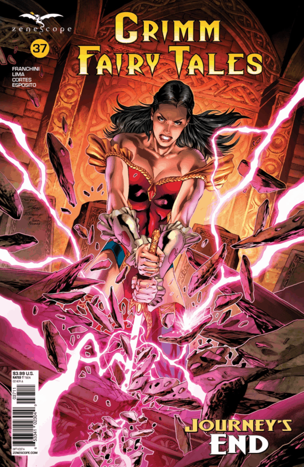 Grimm Fairy Tales #37 - image courtesy of Zenescope