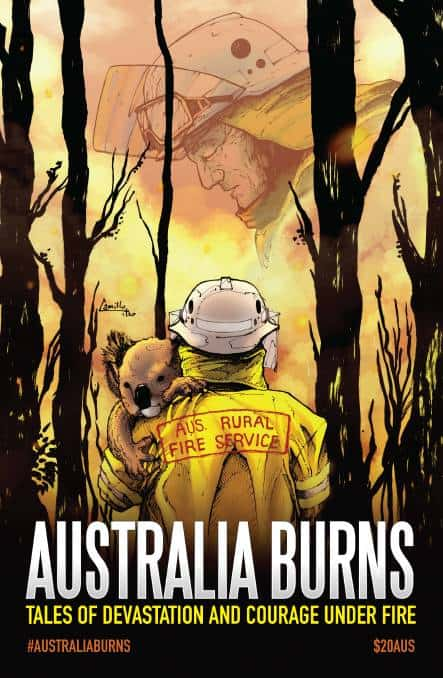 AUSTRALIA BURNS - An Anthology for every Aussie Household 1