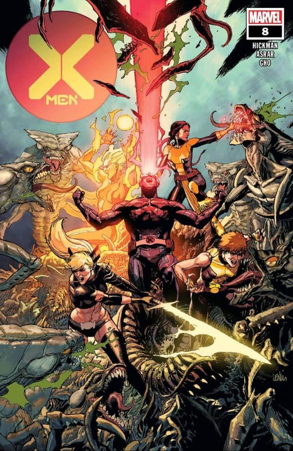 X-Men #8 Cover Image, Courtesy of Marvel Comics