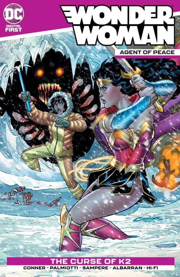 Cover: Wonder Woman: Agent of Peace #2. Image courtesy DC Comics