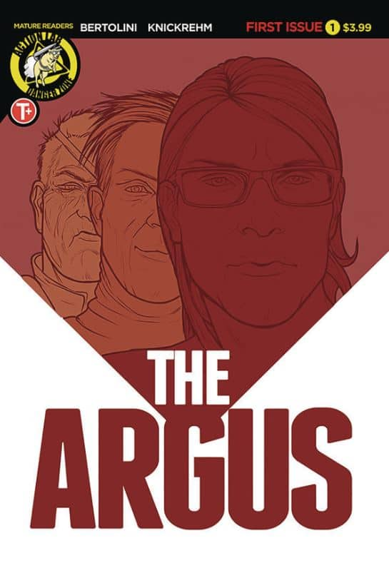 THE ARGUS #1 - Me, Myself, and My Crazy Killer Self 2