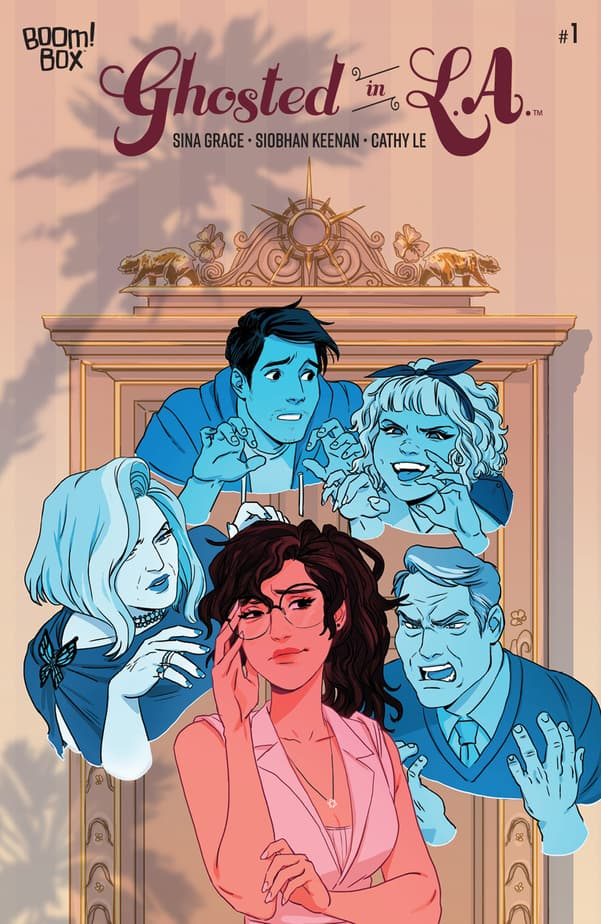 The First 9 Issues of GHOSTED IN LA - The Story So Far 1