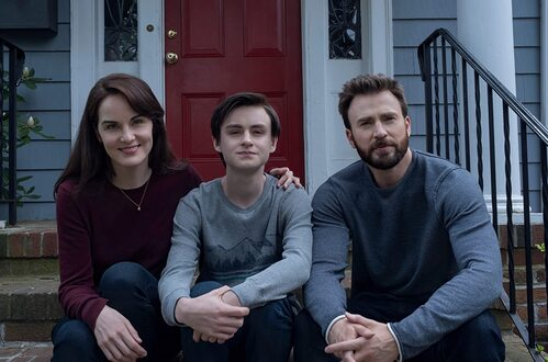 ing Jacob Chris Evans Jaeden Martell Michelle Dockery 2