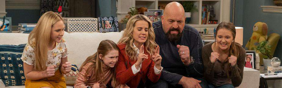 The Big Show Show Family Couch