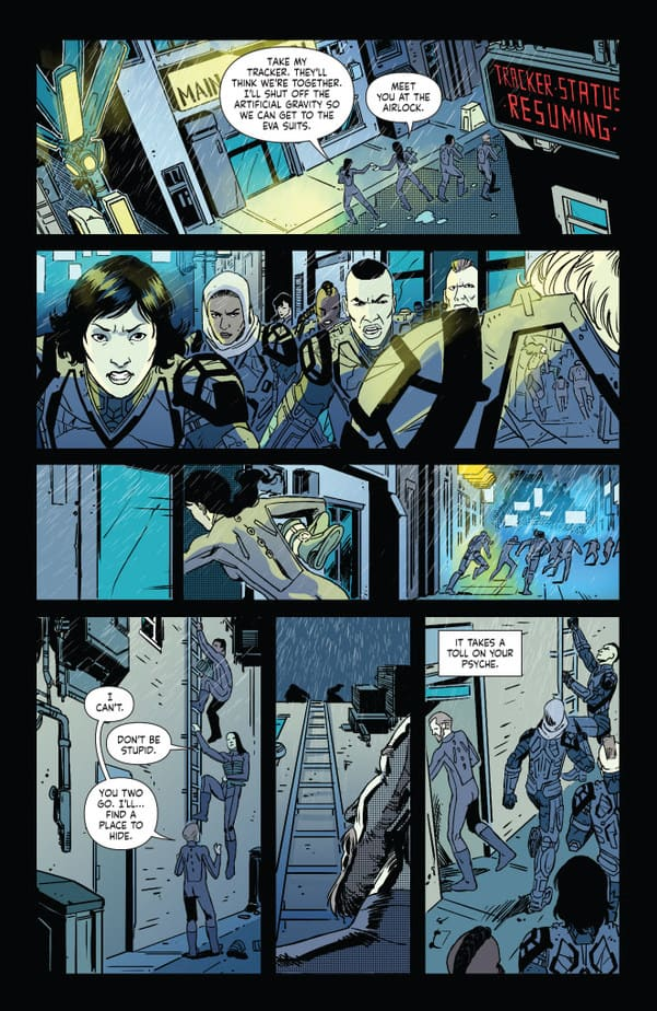 Volume 1 of Dystopian Thriller KILLSWITCH hits Comixology this Week! 4