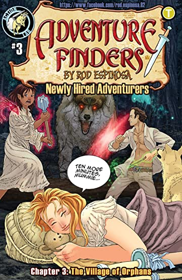 ADVENTURE FINDERS #3- Reminiscent of a Certain Arcade Game 3