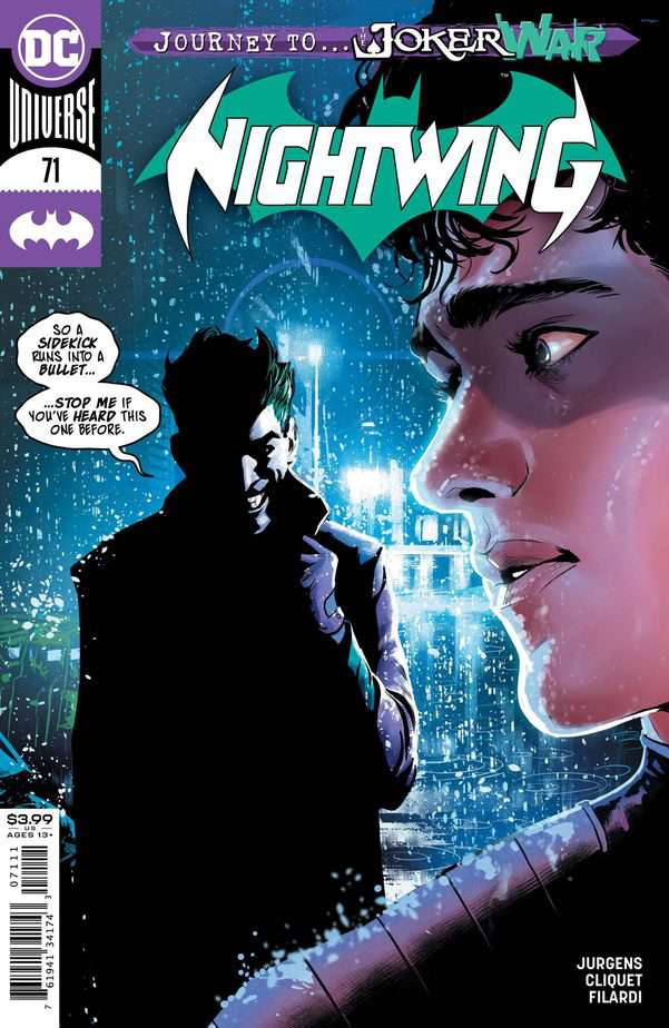 Nightwing #71. Courtesy DC Comics