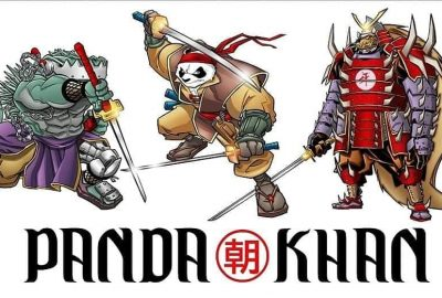 Remember TMNT crossover character Panda Khan? You might be seeing him SOON! 4