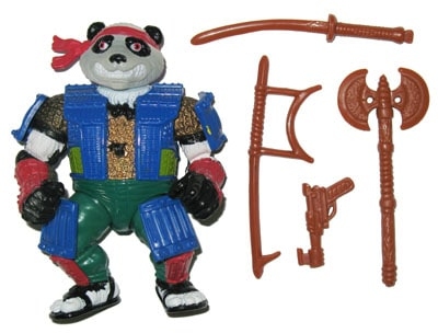Remember TMNT crossover character Panda Khan? You might be seeing him SOON! 1